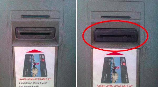 cajeros automaticos modificados por ladrones 2
