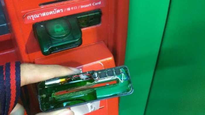 cajeros automaticos modificados por ladrones 3