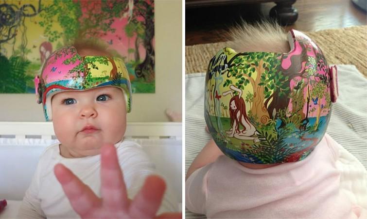 cascos bebe arte 5