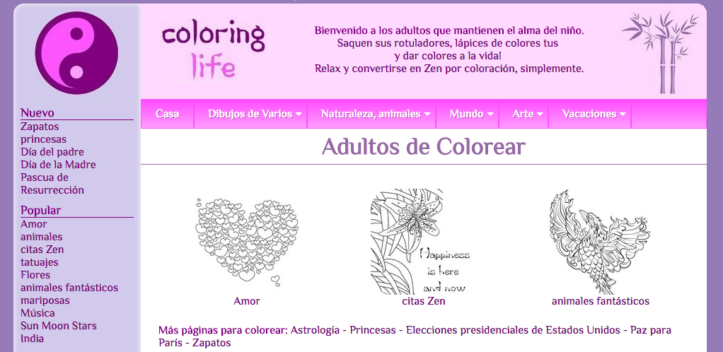 coloring life