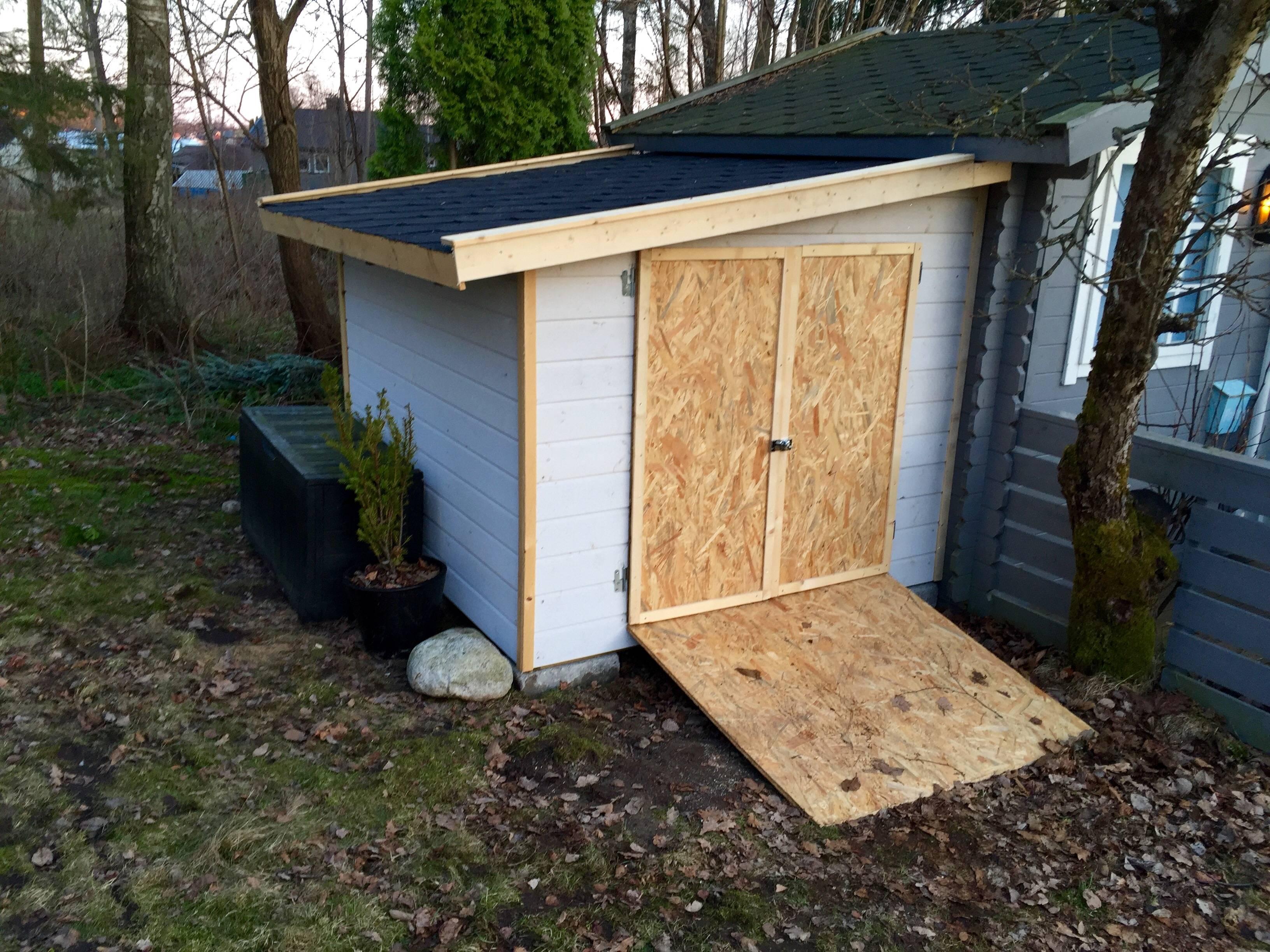 construye un garaje para su hijo 1