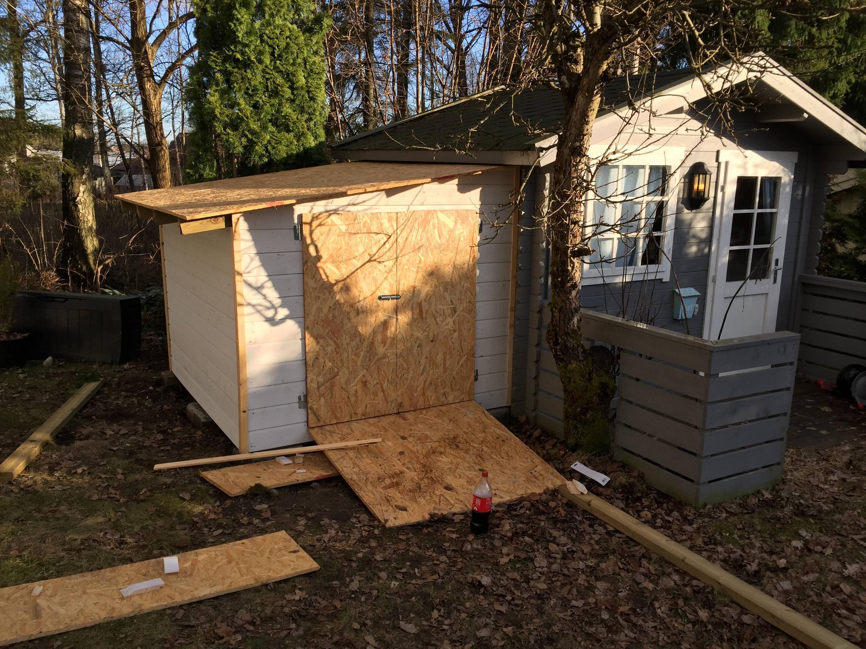 construye un garaje para su hijo 11