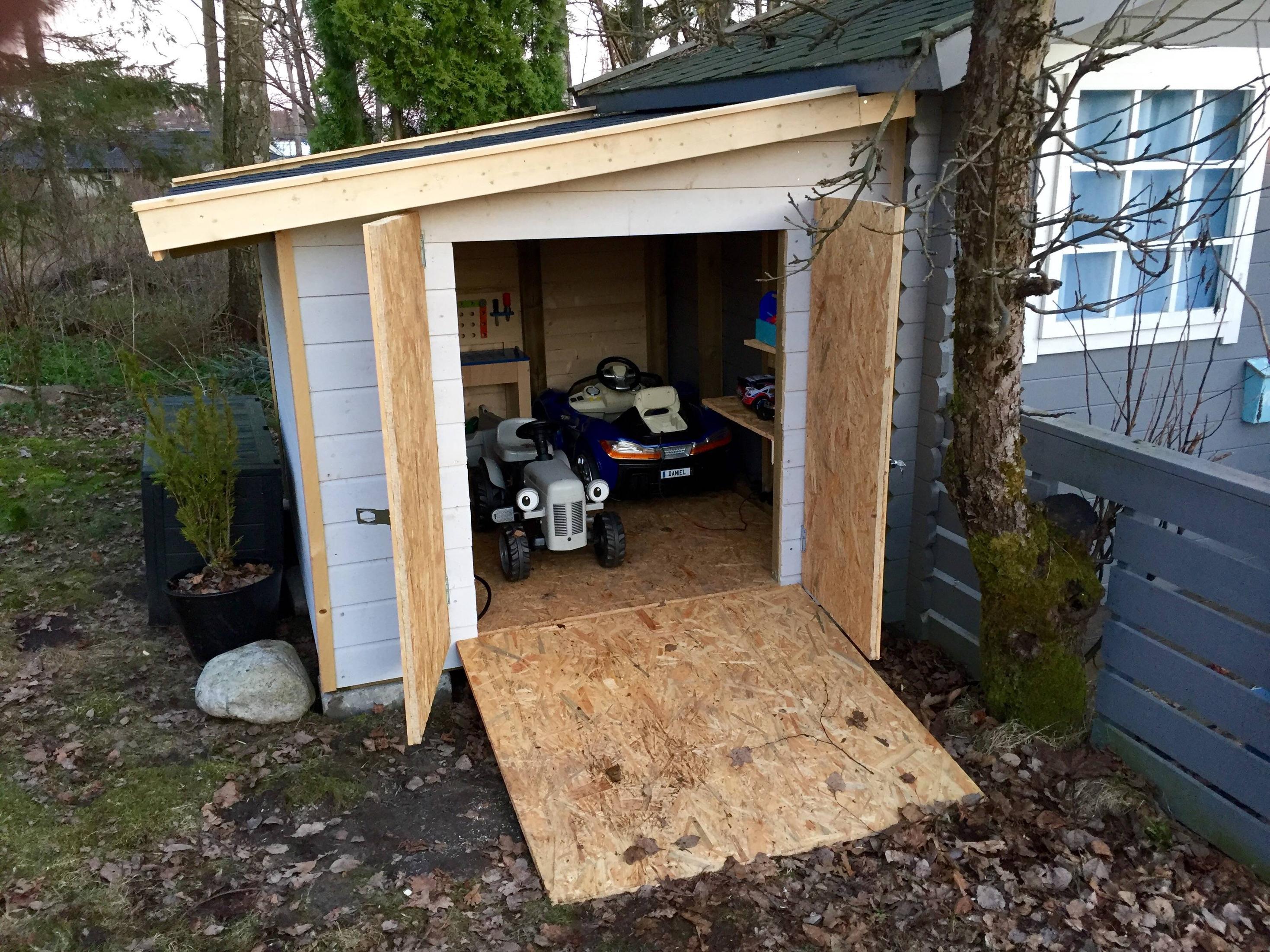 construye un garaje para su hijo 12