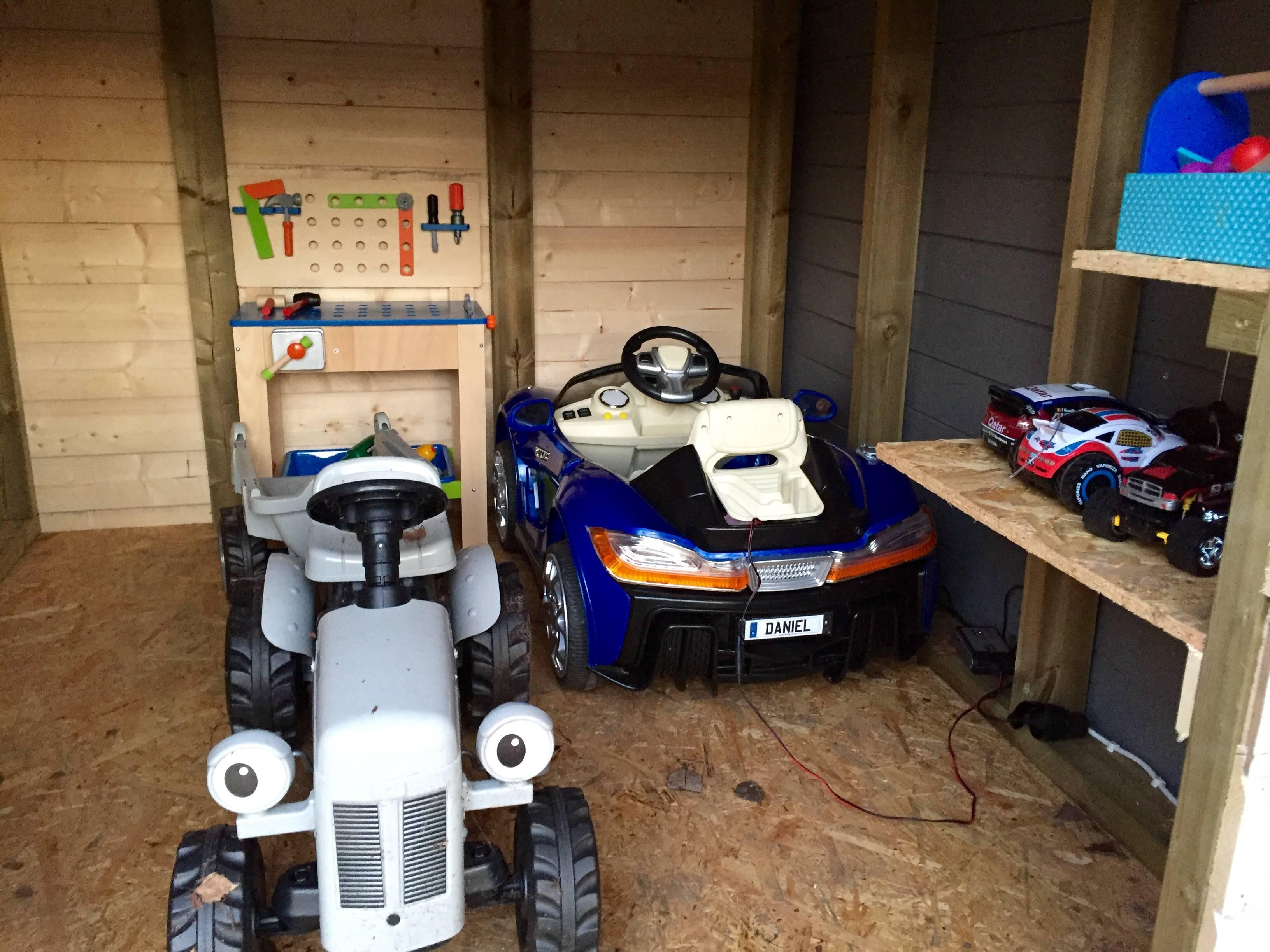 construye un garaje para su hijo 14