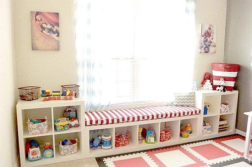 19 magn ficas ideas para decorar tu casa utilizando - Estanterias para bebes ...