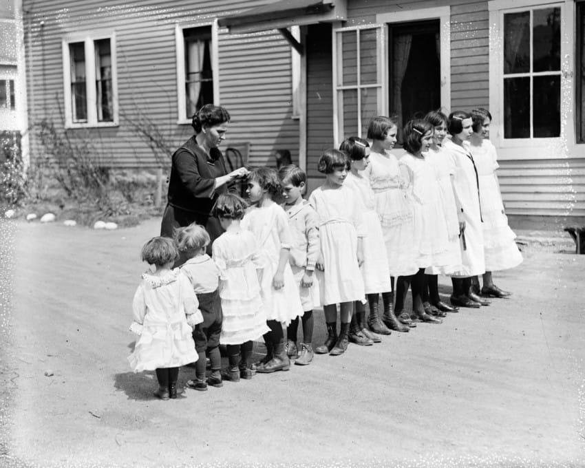 familia de 13 hijos en los años 20 2