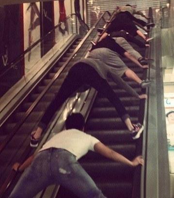 la peligrosidad de la escaleras mecanicas en China 7