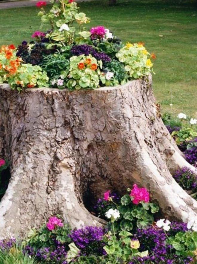 12 alternativas naturales a los maceteros y jardineras de toda la