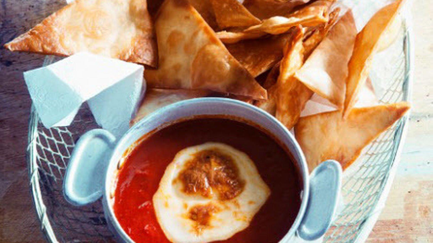 Aprende a cocinar nachos o totopos mexicanos caseros con - Atrevete a cocinar ...
