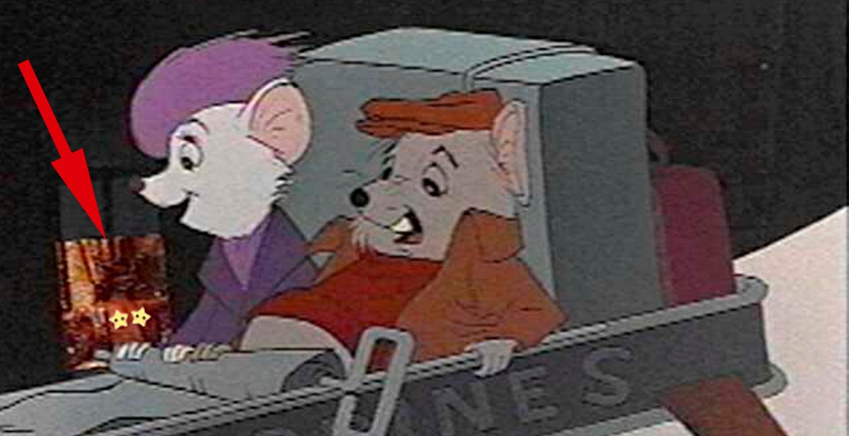 the rescuers the topless women