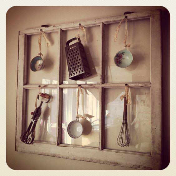 25 maneras de reutilizar llas puertas de ventanas viejas 11