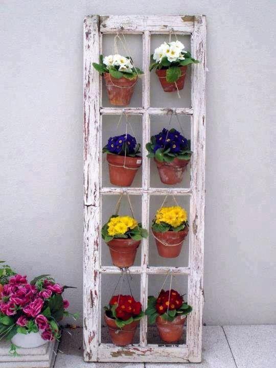 25 maneras de reutilizar llas puertas de ventanas viejas 15