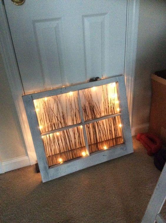 25 maneras de reutilizar llas puertas de ventanas viejas 3