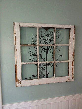 25 maneras de reutilizar llas puertas de ventanas viejas 4