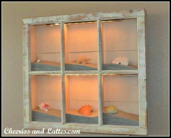 25 maneras de reutilizar llas puertas de ventanas viejas 7