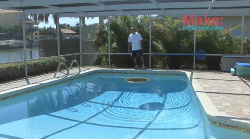 como hacer tu propia piscina top el agua de la piscina