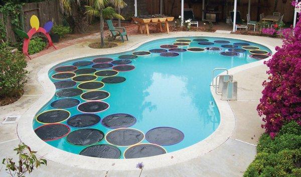 aros termicos para calentar la piscina