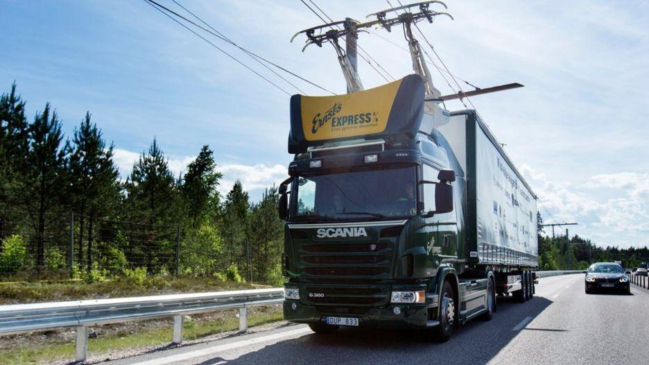 autopista electrica en suecia 1