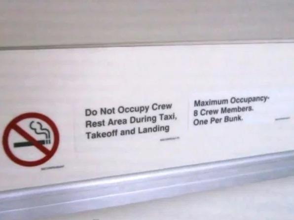 camas azafatas avion 12
