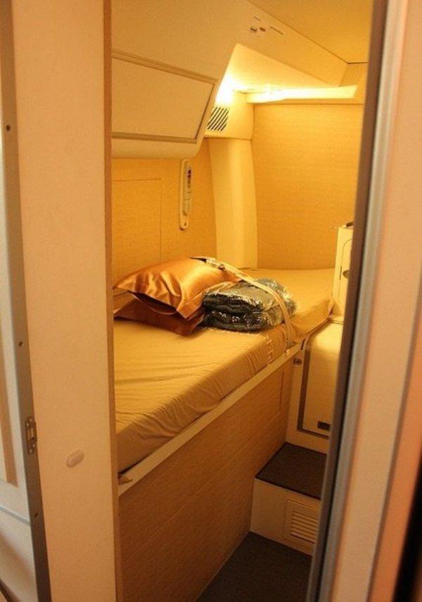 camas azafatas avion 16