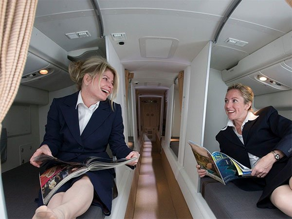 camas azafatas avion 2