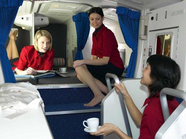 camas azafatas avion 8