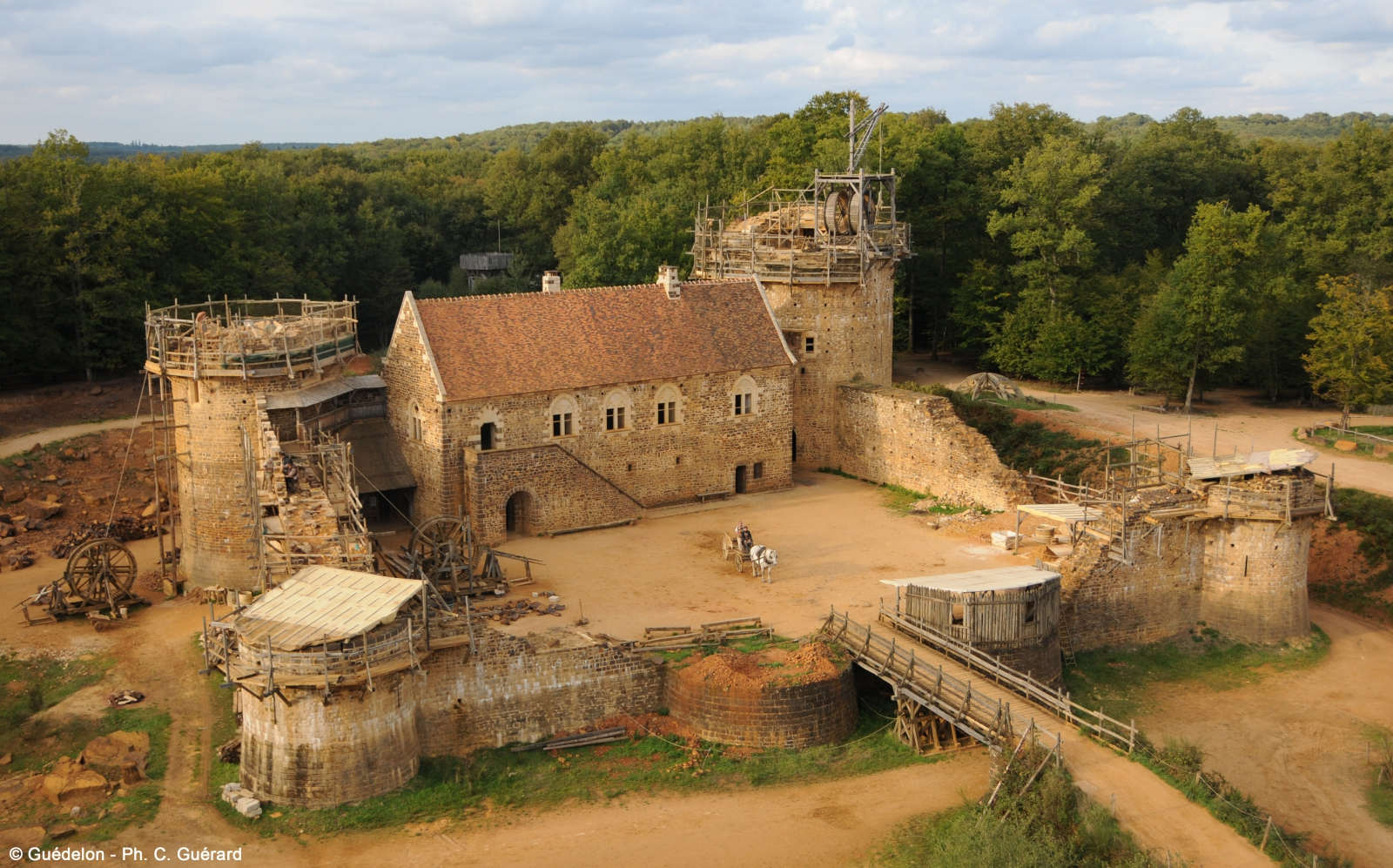 castillo de guedelon 1