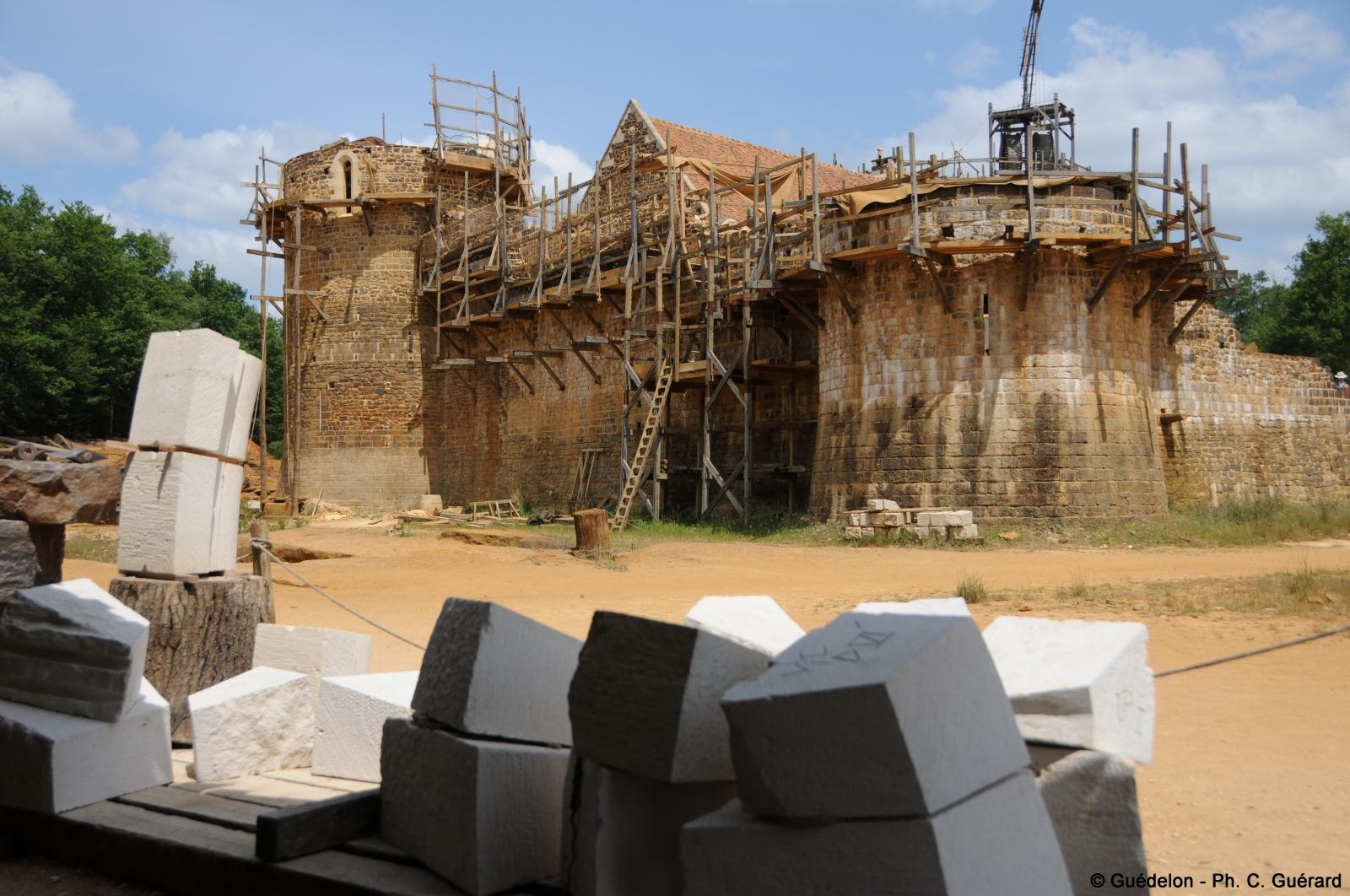 castillo de guedelon en francia 2