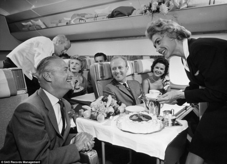 comida avion antes 2