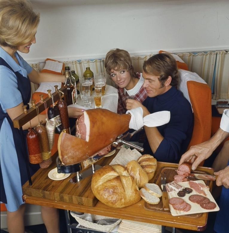 comida avion antes 5