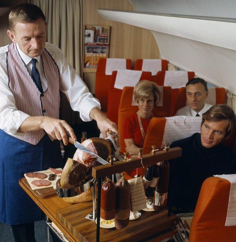 comida avion antes 9