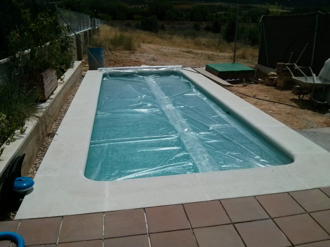 cubierta termica de plastico para piscina