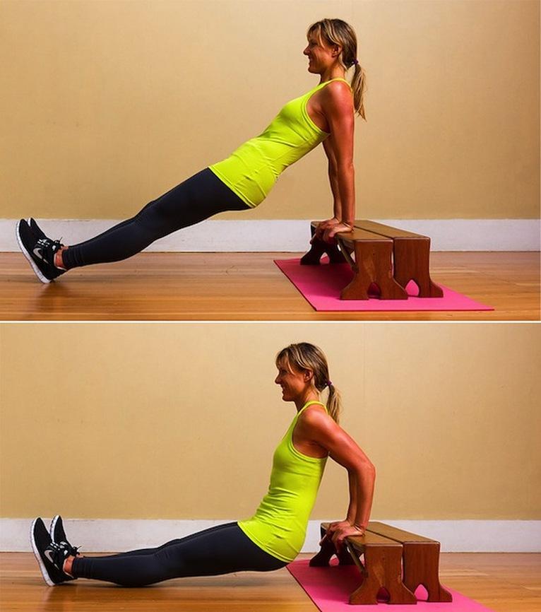 ejercicios para fortalecer triceps 1