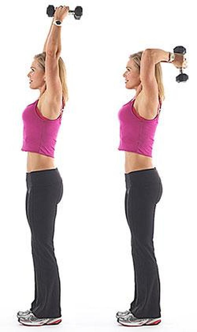 ejercicios para fortalecer triceps 2