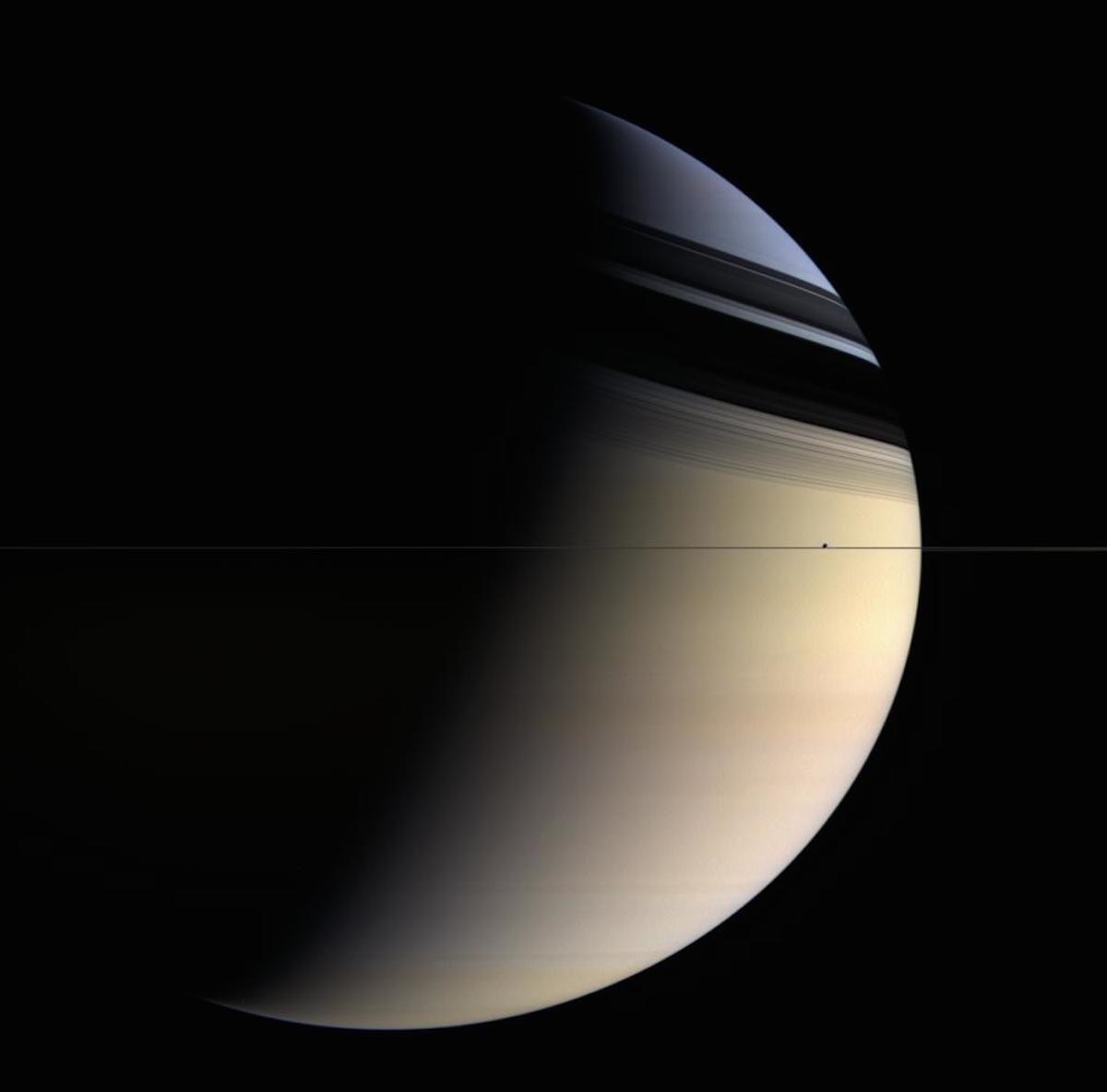 imagenes nunca vistas de saturno tomadas por la sonda cassini 14