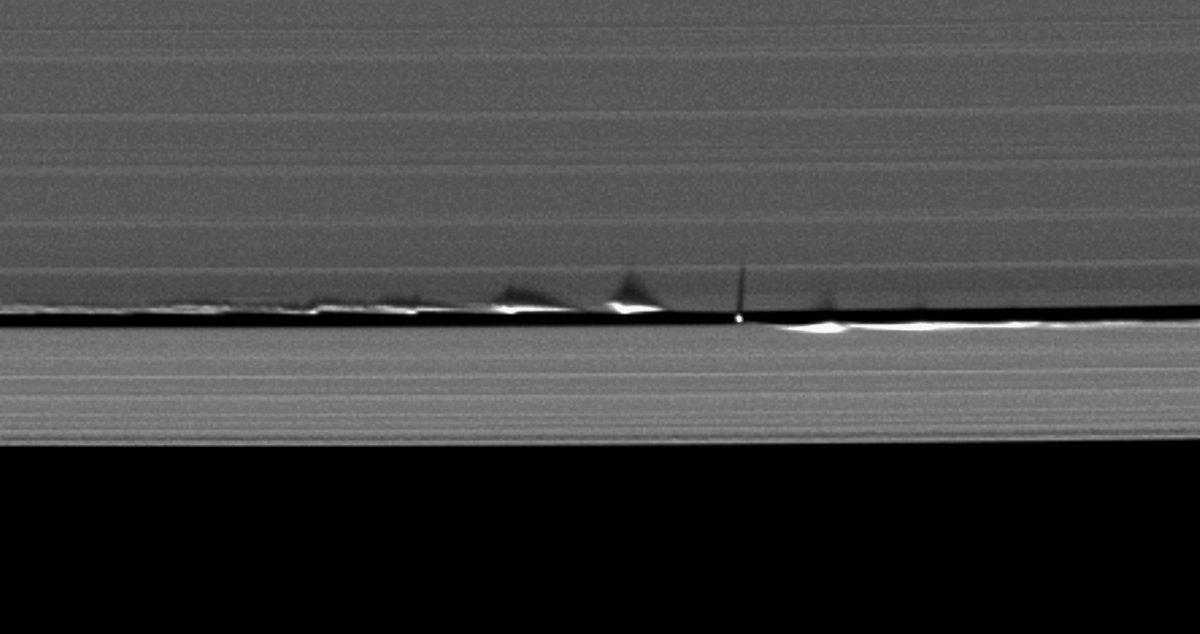 imagenes nunca vistas de saturno tomadas por la sonda cassini 16