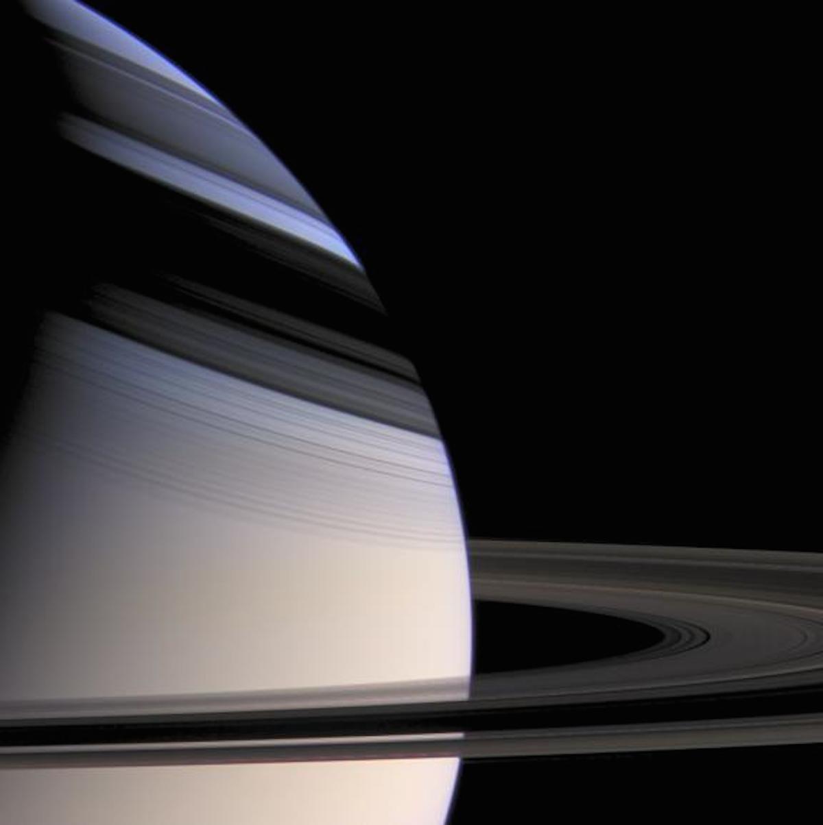 imagenes nunca vistas de saturno tomadas por la sonda cassini 17