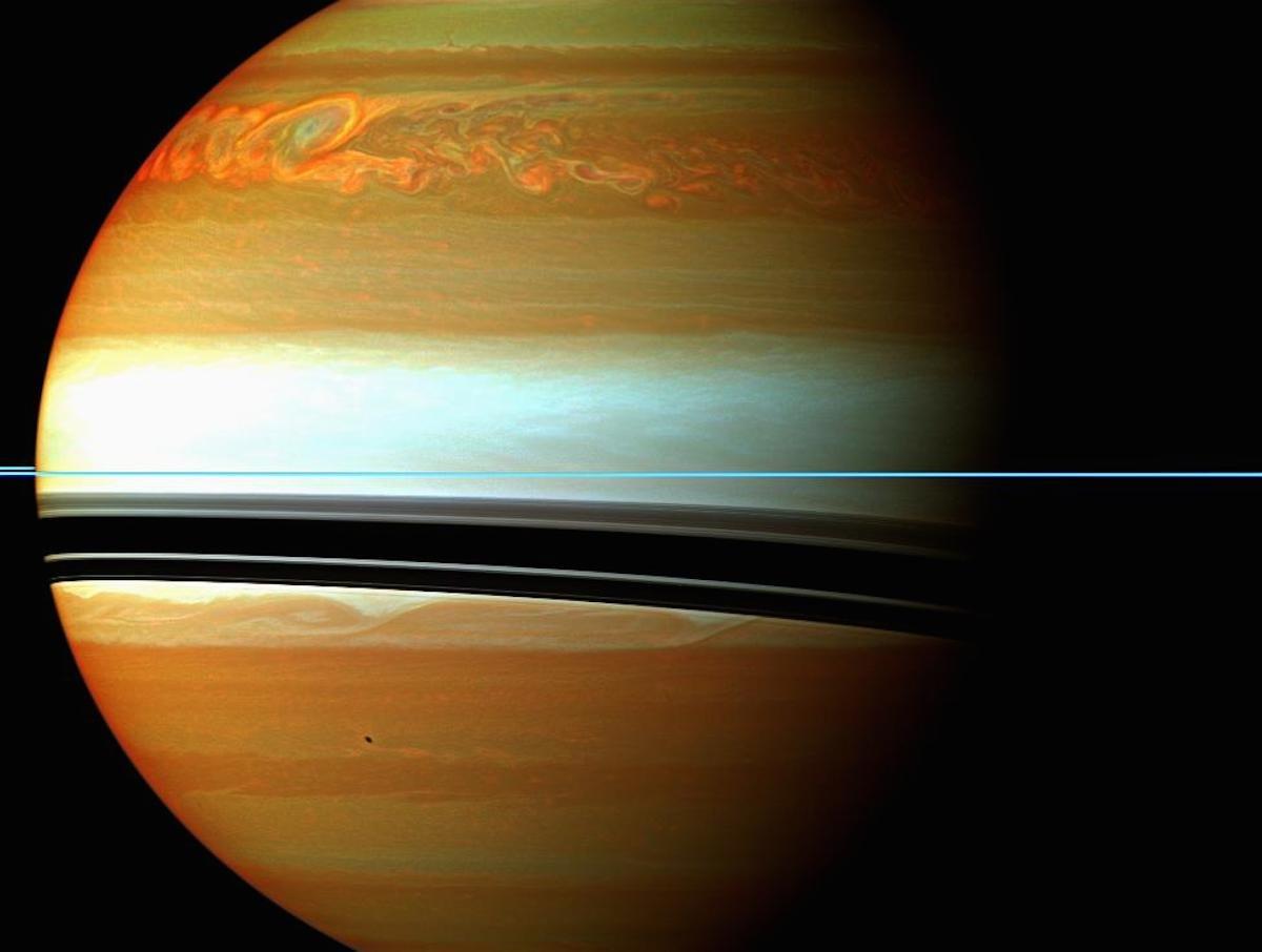 imagenes nunca vistas de saturno tomadas por la sonda cassini 7