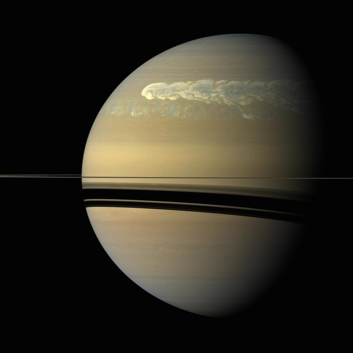 imagenes nunca vistas de saturno tomadas por la sonda cassini 8