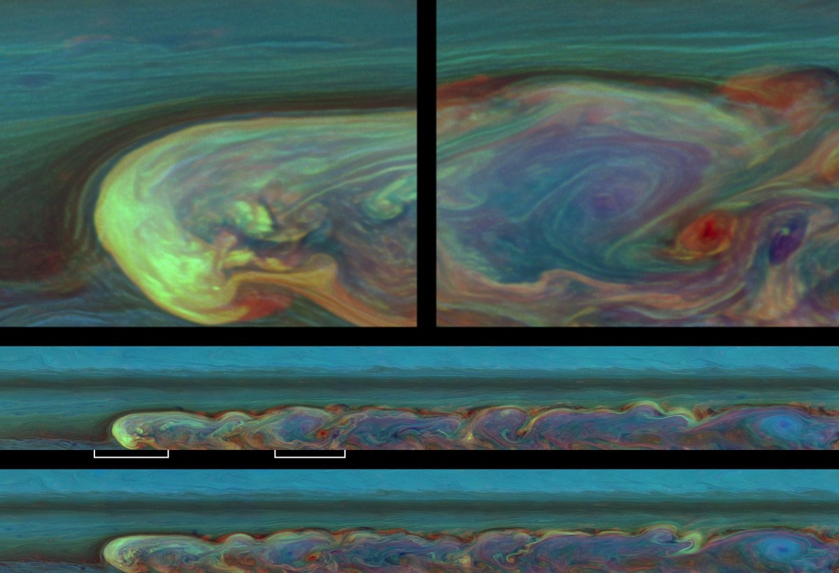 imagenes nunca vistas de saturno tomadas por la sonda cassini 9