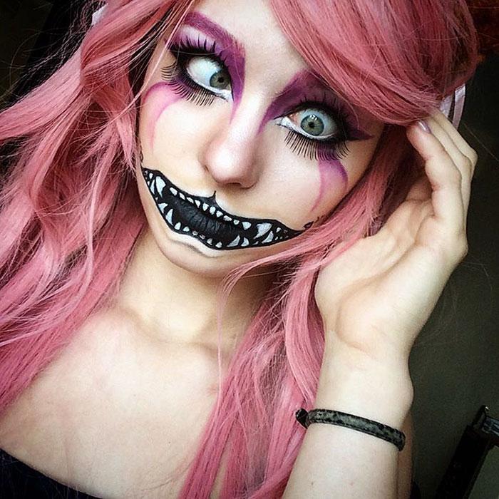 joven artista del maquillaje hace maravillas 12