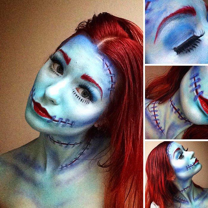 joven artista del maquillaje hace maravillas 16