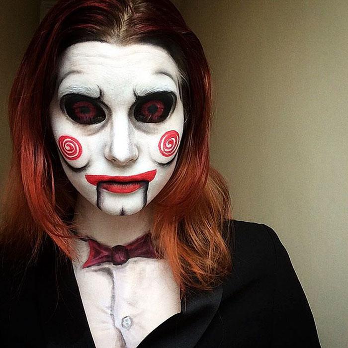 joven artista del maquillaje hace maravillas 17