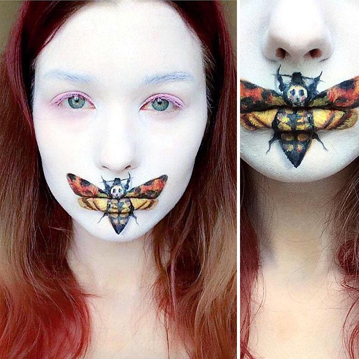 joven artista del maquillaje hace maravillas 18
