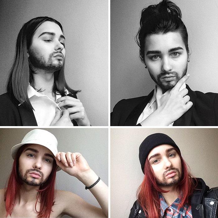 joven artista del maquillaje hace maravillas 19