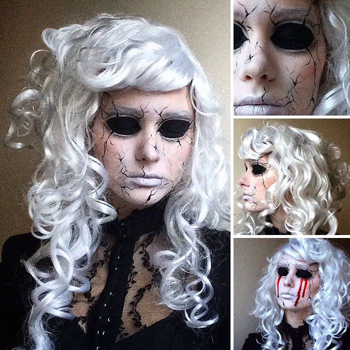 joven artista del maquillaje hace maravillas 2