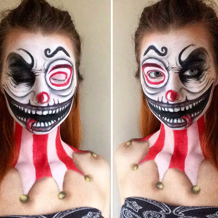 joven artista del maquillaje hace maravillas 24