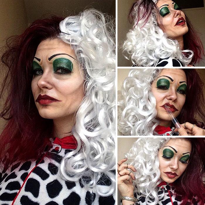 joven artista del maquillaje hace maravillas 25