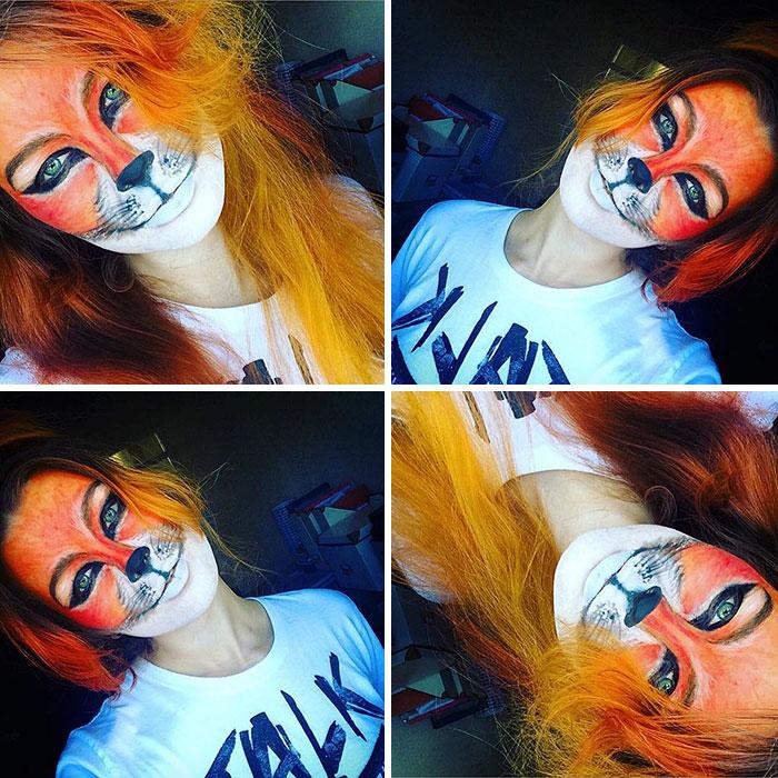 joven artista del maquillaje hace maravillas 28
