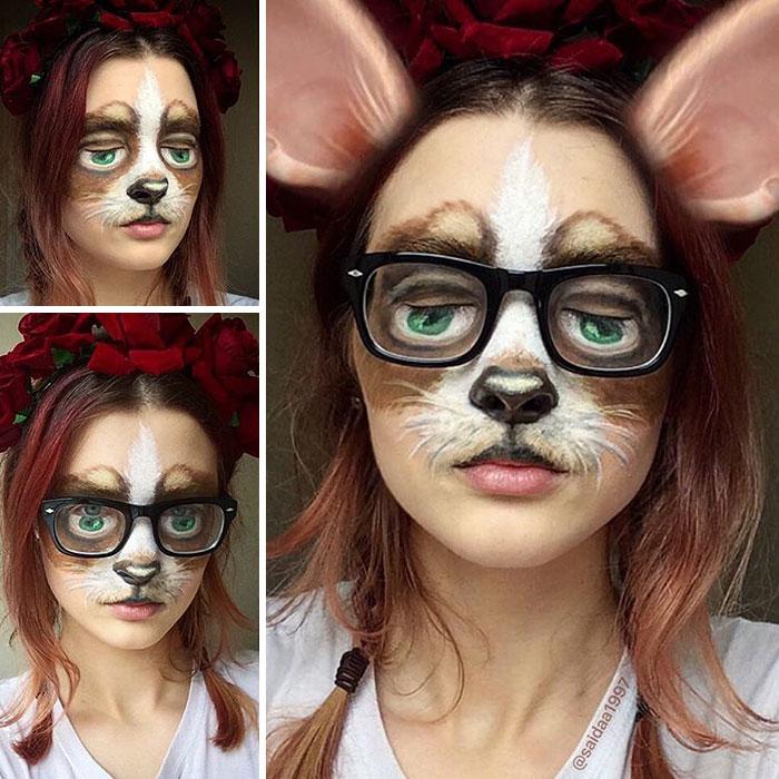 joven artista del maquillaje hace maravillas 29